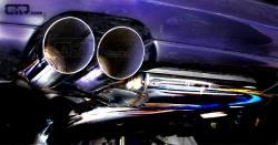 S3 / GT 1 Streetracing Auspuffanlage 76mm ab Downpipe 2