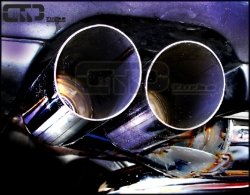 S3 / GT 1 Streetracing Auspuffanlage 76mm ab Downpipe 3