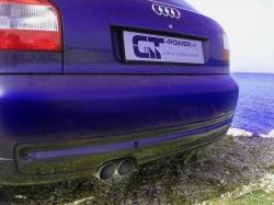 S3 / GT 1 Streetracing Auspuffanlage 76mm ab Downpipe 5