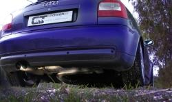 S3 / GT 1 Streetracing Auspuffanlage 76mm ab Downpipe 6