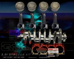 1.8T STROKER KIT / 2.0 LITER / ARROW 1