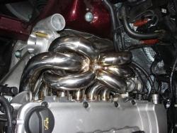 Porsche Cayenne Turbo Fächerkrümmer / T3 / T4 / T04 Flansch 5