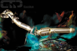 TT / S3 GT 1 RACING DOWNPIPE 76 mm ab Turbo 1