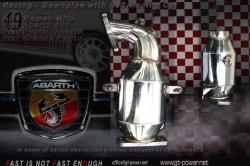 GT2 / Racing Downpipe / FIAT ABARTH 500 & PUNTO / GRANDE PUNTO 120HP / FIAT BRAVO / ALFA  MITO 1