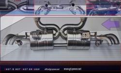 Audi R8 Sport- Auspuffanlage Vollsystem ab Kat - 5.2 FSI 09- 2012 1