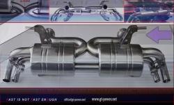 Audi R8 Sport- Auspuffanlage Vollsystem ab Kat - 4.2 FSI 07- 2012 1