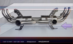 Audi R8 Sport- Auspuffanlage Vollsystem ab Kat - 4.2 FSI 07- 2012 2