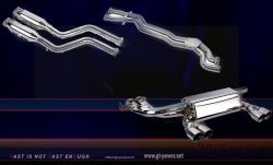BMW M3 E46 - Sport Auspuffanlage (Stainless Steel) 1