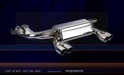 BMW M3 E46 - Sport Auspuffanlage (Stainless Steel) 4