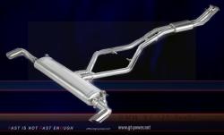 BMW X6 i35 Turbo - Sport Auspuffanlage 64mm (Stainless Steel) 1