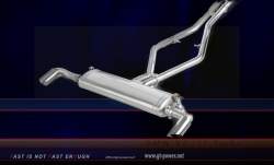 BMW X6 i35 Turbo - Sport Auspuffanlage 64mm (Stainless Steel) 2