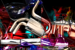 S3 / GT 1 Streetracing Auspuffanlage 76mm ab Kat 1