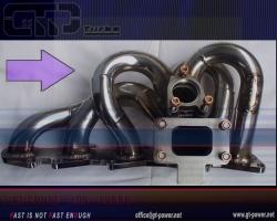 Turbo Manifold FIAT Coupe 20v Turbo 3