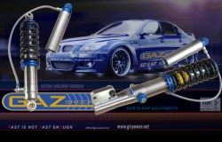 GAZ GOLD (GGA) COMPETITION - GEWINDEFAHRWERK-BMW E36 with roll bar 1