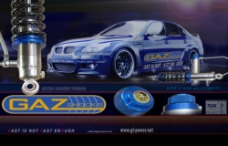 GAZ GOLD (GGA) COMPETITION - GEWINDEFAHRWERK-BMW E36 with roll bar 2