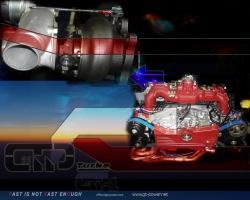 550HP GT1 Racing Turbo Subaru 1