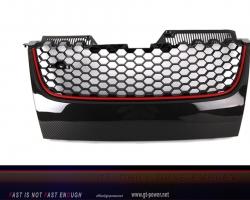 GTI Carbonfaser Grill ohne Emblem 2