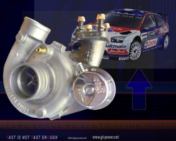 Ford Focus RS - 320HP - Competition-Turbo ( Bolt on Turbo - Soloution ) 1