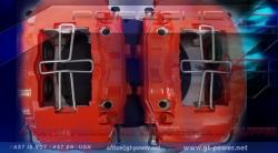 4 KOLBEN - PORSCHE ( 993 Bi-Turbo Ersatzsattel ) 2