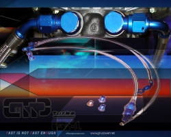 Turbo Wasser & Ölleitungs-Installtionskit Audi/Vag 1