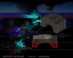 6 Zyl. V6 Hauplager Stahlkappen Kit 1