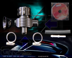 Universal BOV - Kit 25mm einstellbar -Turbosmart Hybrid-Type 2