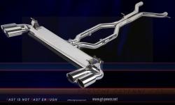 Porsche Cayenne 4.8T - Sport Auspuffanlage Vollsystem (Stainless Steel) 1