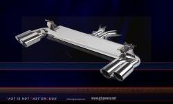Porsche Cayenne 4.8T - Sport Auspuffanlage Endtopf (Stainless Steel) 1