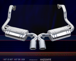 Porsche Boxter 987 - Sport Auspuffanlage 1
