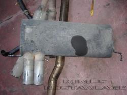 S3 / GT 1 Streetracing Auspuffanlage 76mm ab Downpipe 12