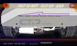 Smart ForTwo 1.0L-451  (´08-´10) - Motorsport Auspuffanlage mit HJS Kat 2
