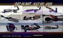 Smart ForTwo 1.0L-451  (´08-´10) - Motorsport Auspuffanlage mit HJS Kat 3