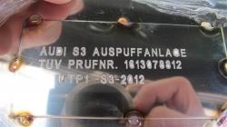 S3 / GT 1 Streetracing Auspuffanlage 76mm ab Downpipe 9
