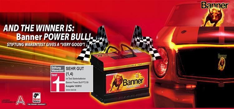 BANNER POWER BATTERIEN